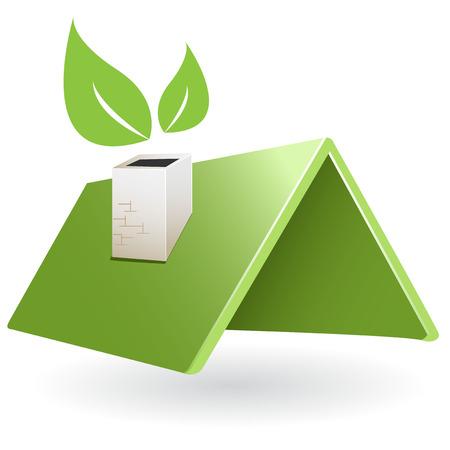green roof Stock Vector - 8954421