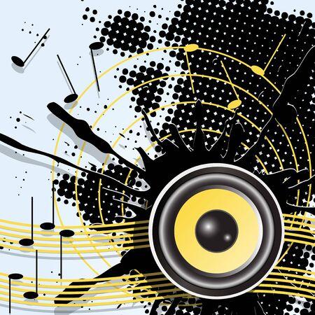 music Stock Vector - 9237158