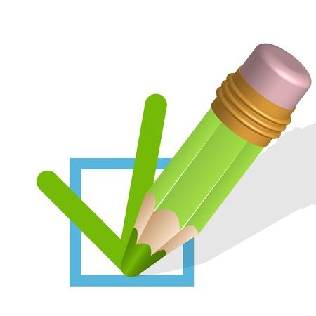 questioning: Bleistift