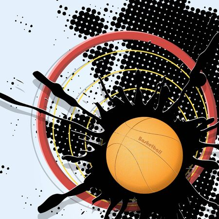 basketball Stock Vector - 9257794