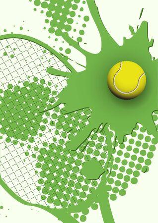 tennis Stock Vector - 9671849
