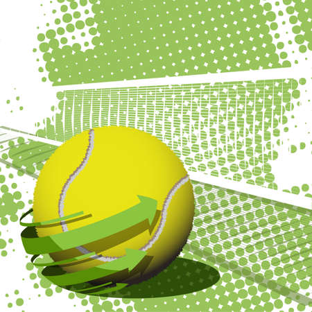 tennis Stock Vector - 9671870