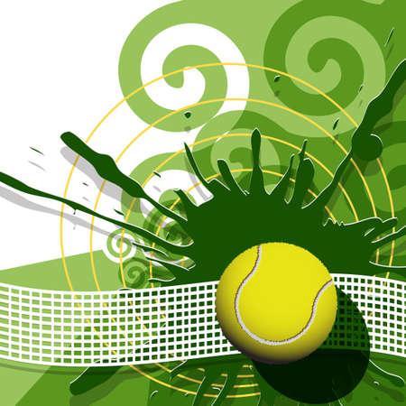 tennis ball: tennis