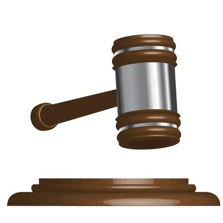 defendant: wooden gavel