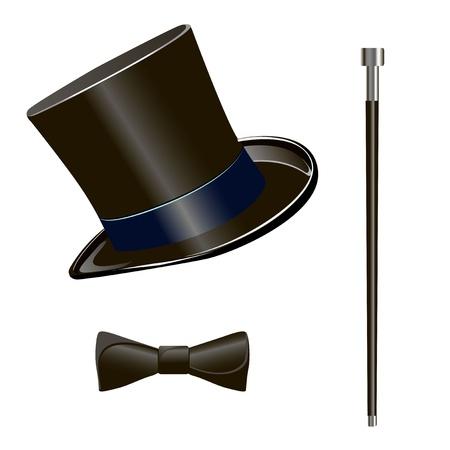 black tie: cilindro