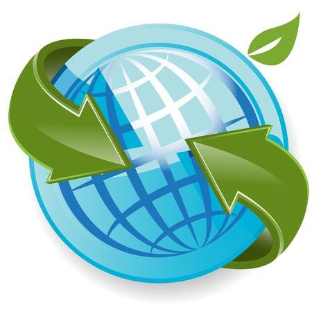 globe arrow: globe