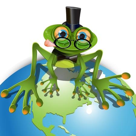 frog Stock Vector - 9929894
