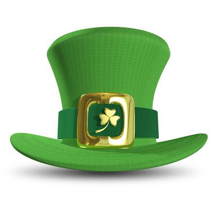 Illustration a green St. Patrick's Day hat