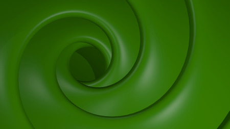 abstract: 3D Illustration Abstract Green Background with Glare