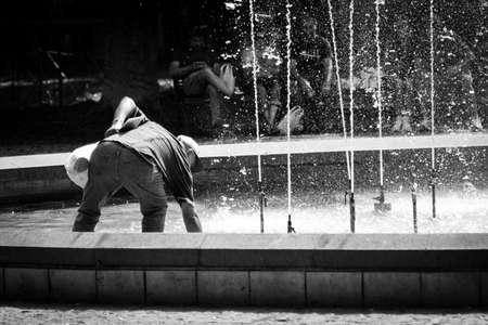 Fountain in Catania photo