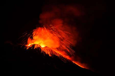 eruption: Etna eruption