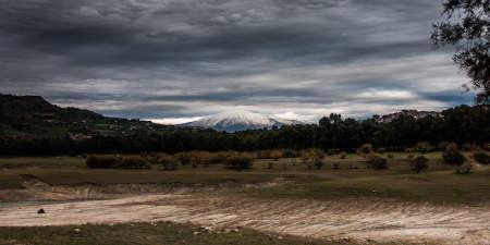 etna: panoramic Mount Etna
