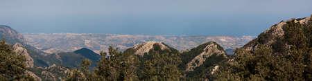 ionio: Panorama sea Ionio from Aspromonte