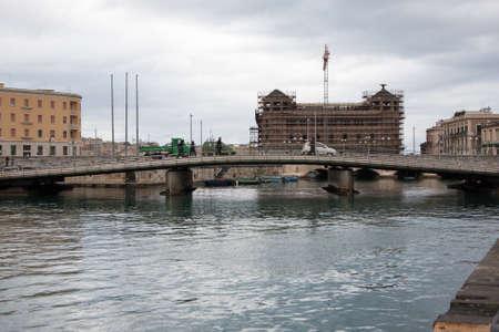 Italy Sicily Siracusa Harbor