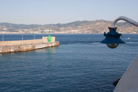 The Strait of Messina  is the narrow passage between the eastern tip of Sicily and the western tip of Calabria