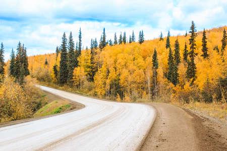 Road to Autumn Beauty Reklamní fotografie