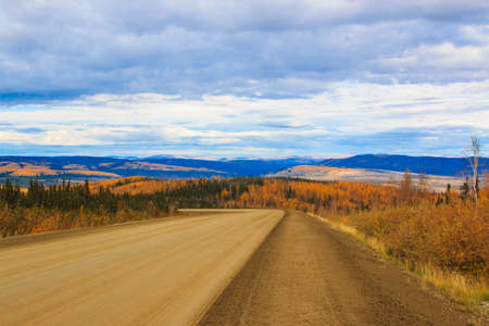 The road back to Fairbanks Reklamní fotografie