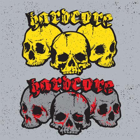 hardcore: Skull hardcore