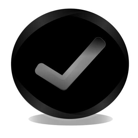 approval button: Checkmark Button