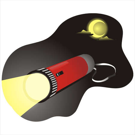 torchlight: Flashlight Illustration