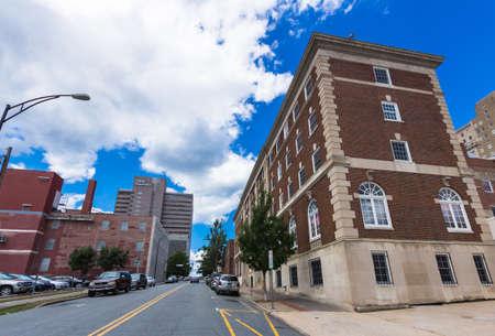 Downtown Winston-Salem, North Carolina. Editorial