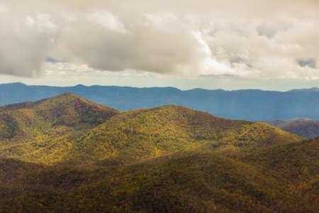 Blue Ridge Mountains near Mount Pisgah