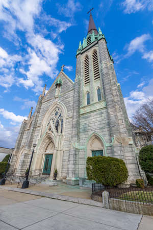 St. Pauls Catholic Church on December 18, 2016 in historic Portsmouth, Virginia. Editorial