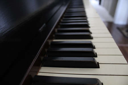 Piano Keys Reklamní fotografie