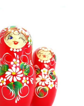 Russian Nesting Dolls. Souvenir from Russia. Stock Photo - 6234298