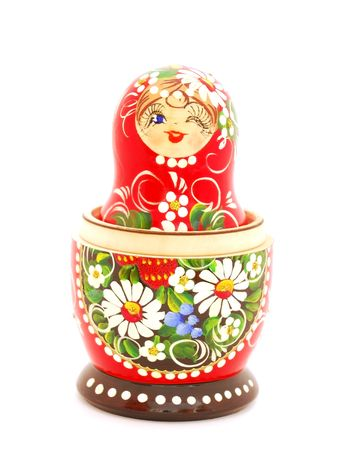 Russian Nesting Doll. Souvenir from Russia. photo