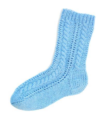 Blue sock photo