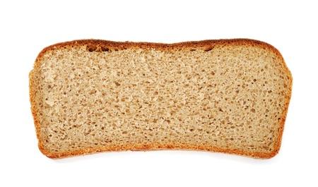 Slice of rye bread photo