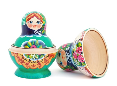Opened Russian Doll photo