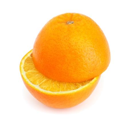 Orange isolated on white background Stock Photo - 8617974