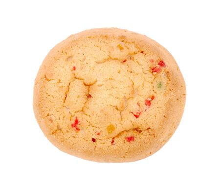 Cookie with candied fruits photo