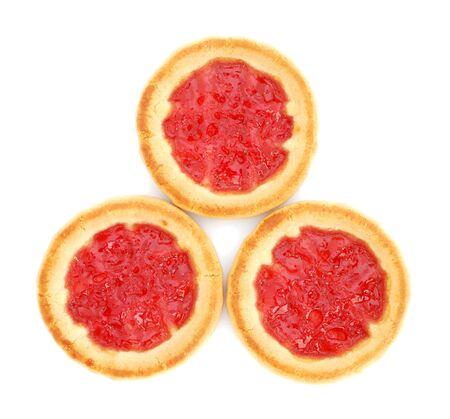 Cookies with jam Stock Photo - 8850659