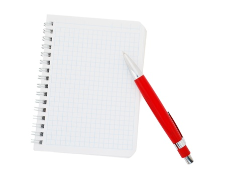Paper notebook Stock Photo - 9110644