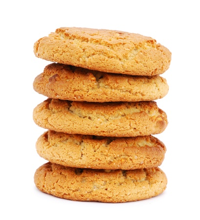 Stack of cookies photo
