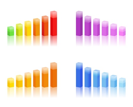 bar graphs Stock Vector - 9812886