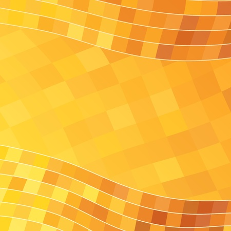 yellow shine: Abstract Orange Background Illustration