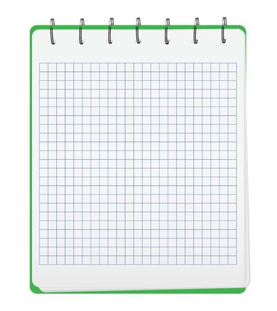 Small Notebook Vector