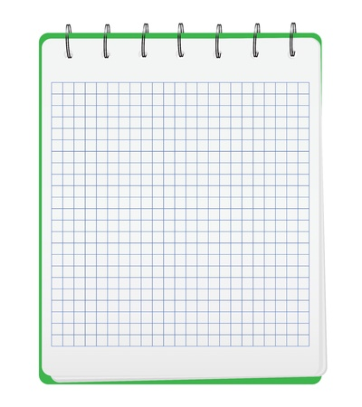 Small Notebook Vector