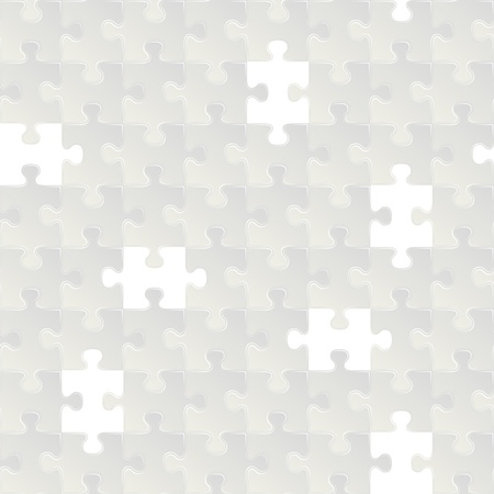 Abstract grey seamless puzzle background