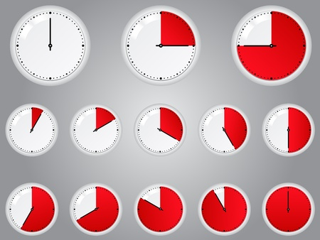 quick: Vector Red Timers