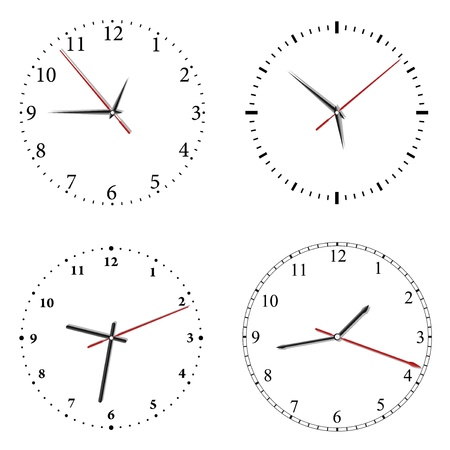 clock Stock Vector - 10459254
