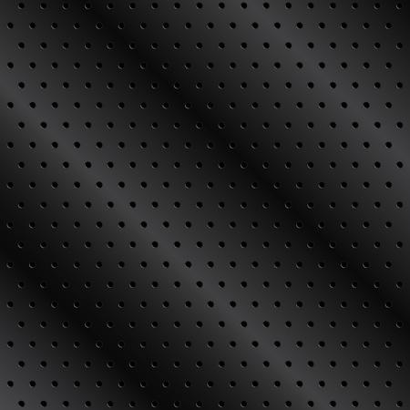 pavimento lucido: Sfondo nero in metallo con fori