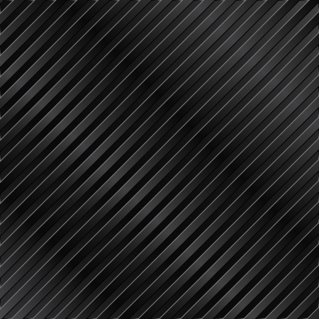 Black metal striped background Stock Vector - 10609604
