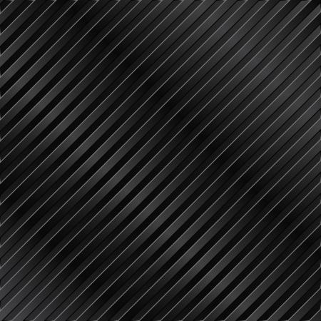 cromo: Fondo negro met�lico con rayas Vectores