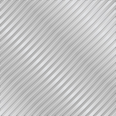 Silver metal striped background Vector