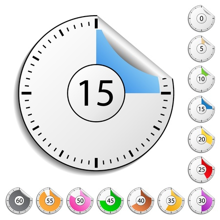 countdown timer: Timer stickers